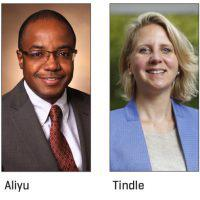 Muktar Aliyu, MBBS, MPH, DrPH, professor of Health Policy and Medicine; and Hilary Tindle, MD, MPH, the William Anderson Spickard, Jr., MD Professor of Medicine and associate professor of Medicine.